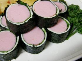 ソーセージのチーズ海苔巻き☆お弁当にも♪
