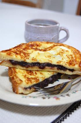 小倉&チーズのフレンチトースト