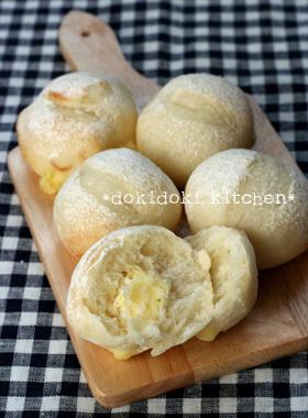 HBで♡米粉チーズパン(イースト版)