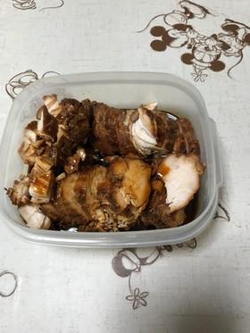 圧力鍋で鶏むねチャーシュー