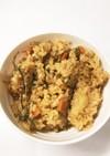 キムチ鍋の残りで炊き込みご飯★