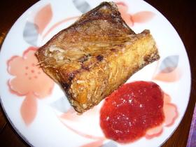 鯖の唐揚げ✿梅ソース