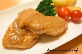 ごま香る♡鶏むね肉の味噌バター焼き