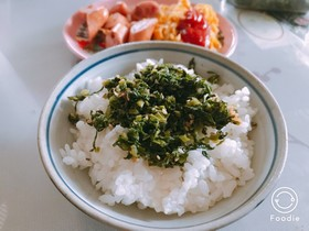 ❋ 野沢菜の油炒め