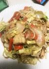 鶏胸肉で簡単生姜焼き野菜炒め