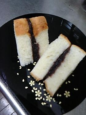 湯種食パンの塩アンサンド
