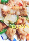 簡単☆酢豚風〜酢鶏