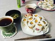 サクサクさつまいも天ぷら巻きの写真