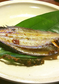 柳鰈(笹鰈)の玄米酒粕漬け グランシェフ