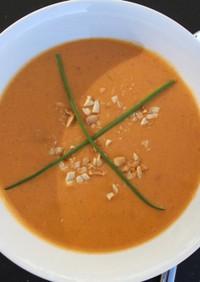 ココナッツとレンズ豆のスープ