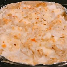 ロールイカと蓮根のマヨみそチーズ焼き!
