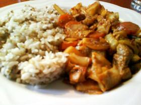 ピリ辛!豚肉と野菜の味噌炒め