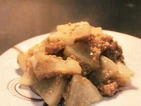 簡単&絶品!豚ひき肉と大根のオイマヨ炒め