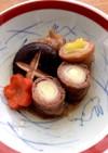 長ネギの牛肉巻き  すき焼き味