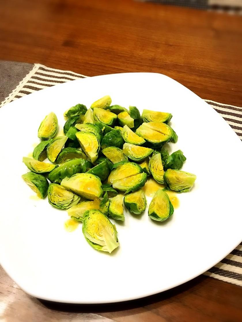 根キャベツ冬が旬の温野菜