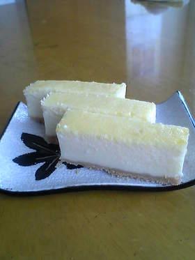 超簡単で美味しい☆ヨーグルトチーズケーキ