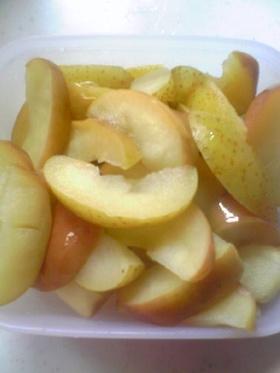 簡単☆リンゴのコンポート☆甘い☆