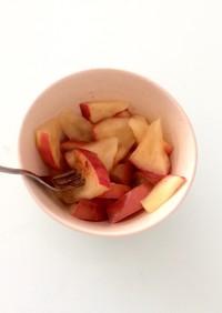 レンジでチン!はちみつレモンな焼きりんご