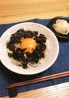 しらす&韓国海苔&食べラーの卵かけご飯