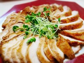 圧力鍋で簡単節約【鶏胸肉チャーシュー】