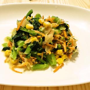青菜に合う野菜たっぷりドレッシング