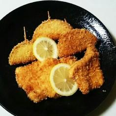 【玉葱と鶏むね肉のフライ♪】