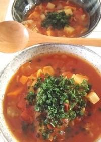 ✿母の野菜スープ(ミネストローネ)✿