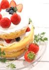 バレンタインにも♡ネイキッドケーキ