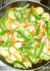 マリネ野菜炒め♪鶏むね肉簡単