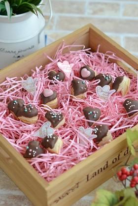 バレンタインに♡簡単チョコパイ