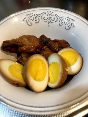 簡単!手羽元と卵のさっぱり煮