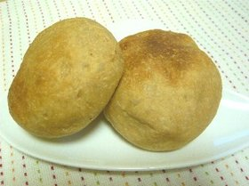 HB使用☆全粒粉入りプチパン