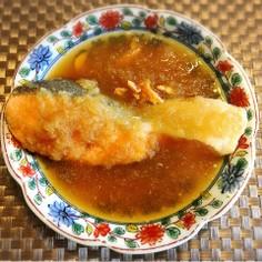 ご飯が進む鮭のおろし生姜煮