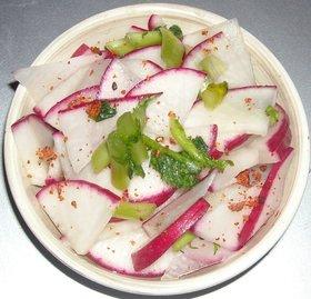 サラダ大根&葉の漬物