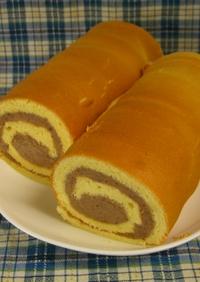 モンブランクリームnoロールケーキ