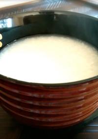 生麹で自然の優しい甘み!手作り甘酒