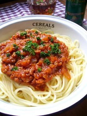 我が家の☆簡単☆ミートスパゲティ