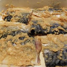サバ粕漬け味噌風味