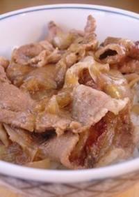 時短☆簡単 基本の美味しい豚丼