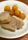 金柑と豚モモブロックの煮込み