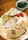 簡単副菜❤お野菜の昆布茶和え