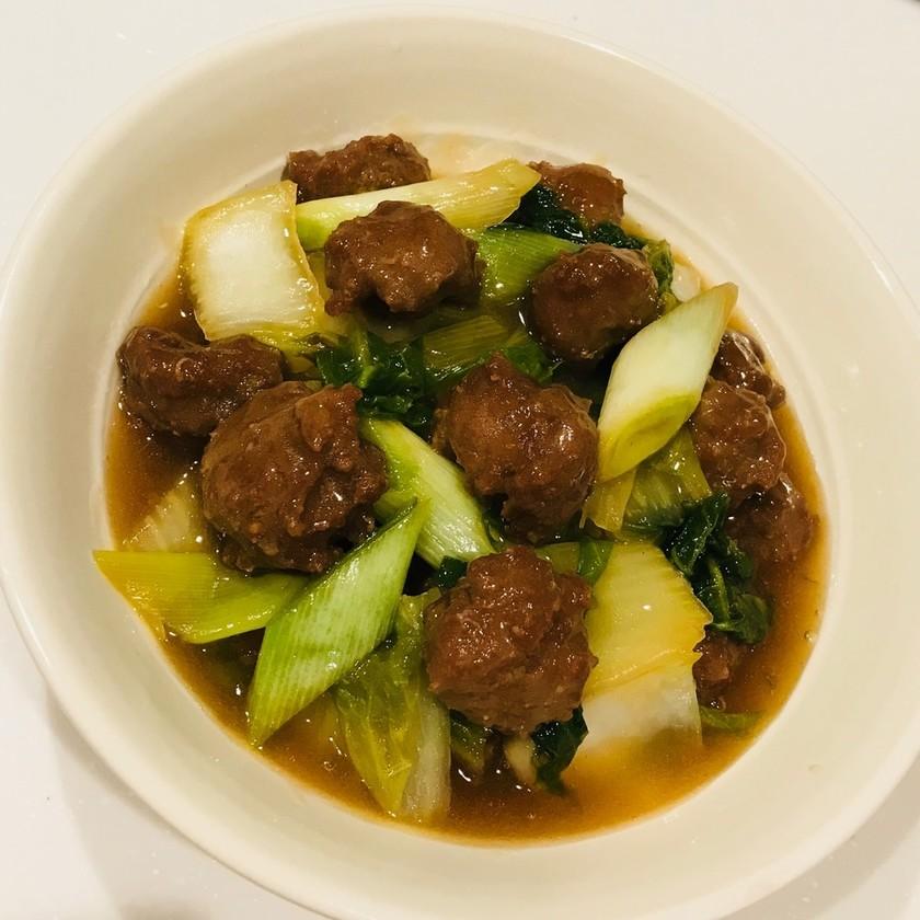 肉団子と白菜の中華煮♡