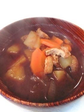 お手軽野菜の味噌汁