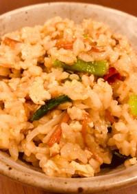 ビビンバ/圧力鍋で作る炊き込みご飯