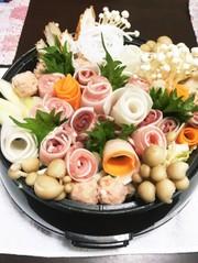 薔薇 鍋 誕生日 パーティー 花 バラの写真