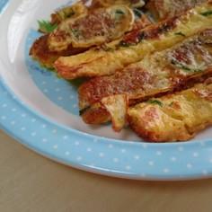 パン耳deお菓子な野菜フレンチトースト