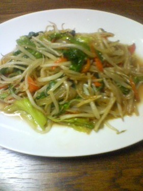 おいしい野菜炒め