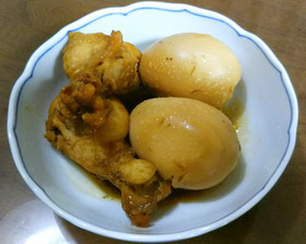 ★簡単絶品本格的☆鶏と玉子のサッパリ煮