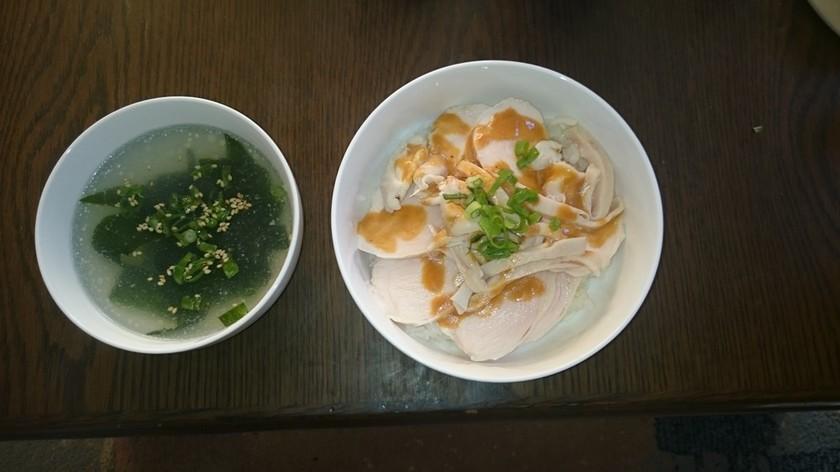 超簡単スープも美味しい鶏ハム
