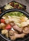 冬の味わい♡揚げ餅鍋